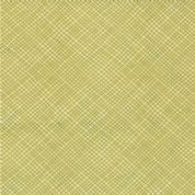 Moda Soho Chic - 2955 - Green Crosshatch Print - 17747-11 Cotton Fabric